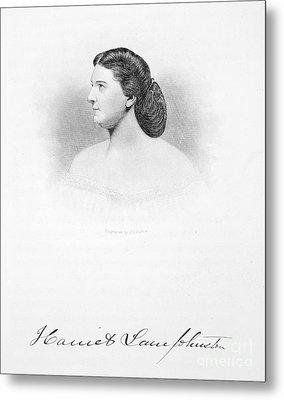 Harriet Lane Johnston Metal Print by Granger