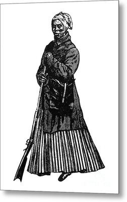 Harriet Tubman (c1823-1913) Metal Print by Granger