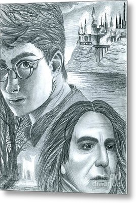 Harry Potter Metal Print