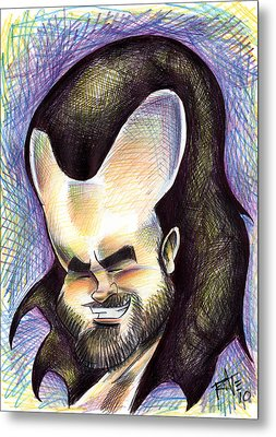 Hasson The Artist Metal Print by Big Mike Roate