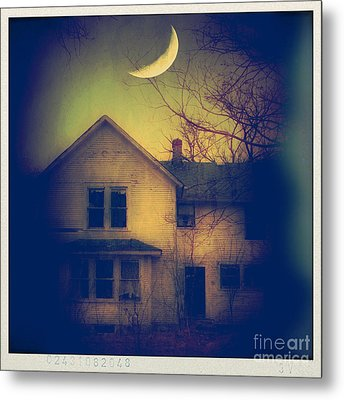 Haunted House Metal Print by Jill Battaglia