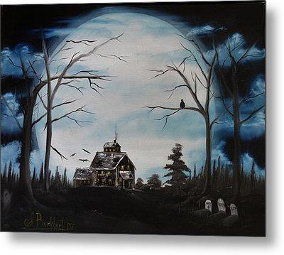Haunted Mansion 2006 Metal Print by Shawna Burkhart