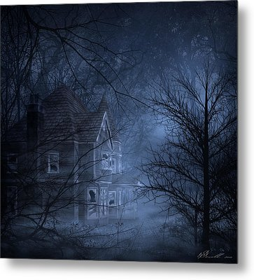 Haunted Place Metal Print