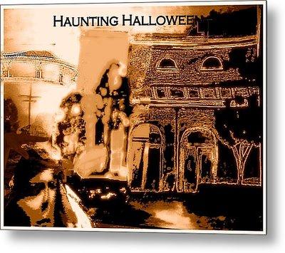 Haunting Halloween Metal Print by Marian Hebert