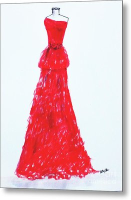 Haute Couture Metal Print by Trilby Cole