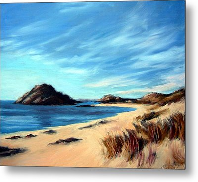 Havik Beach Metal Print by Janet King