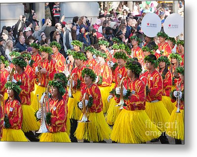 Hawaii All-state Marching Band IIi Metal Print by Clarence Holmes