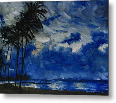Hawaiian Sunrise Metal Print by Sherry Robinson
