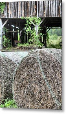 Hay Metal Print by JC Findley
