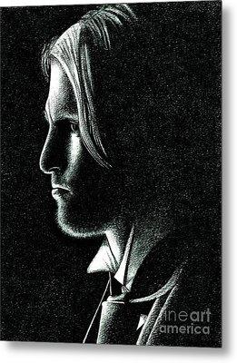 Haymitch Abernathy Metal Print by Crystal Rosene