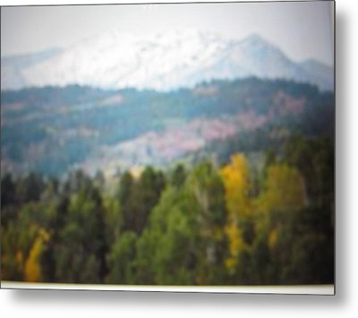 Metal Print featuring the photograph Haze Of Yellowstone by Shawn Hughes