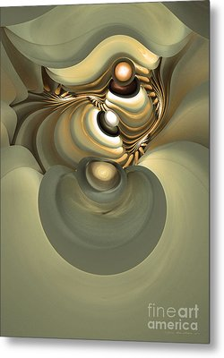 He Is Like His Father Metal Print by Sipo Liimatainen