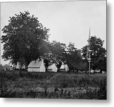 Headquarters - Army Of The Potomac - Fairfax Courthouse Virginia 1863 Metal Print by International  Images
