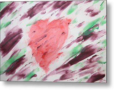 Healing Heart Metal Print by Devon Stewart