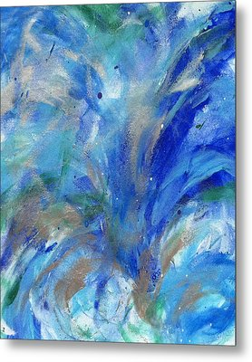 Healing Waves Metal Print by Bethany Stanko