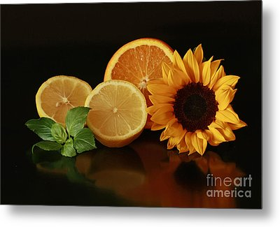 Healthy Food Matters Metal Print by Inspired Nature Photography Fine Art Photography