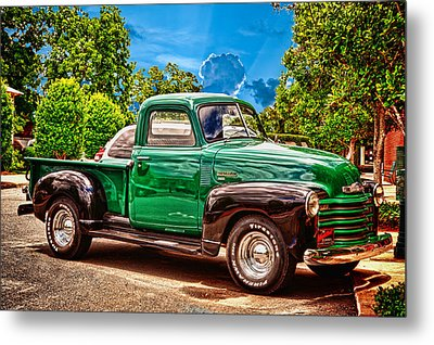 Heart Beat Is Still Beating Metal Print by Frank Feliciano