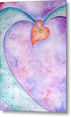 Heart Of The Universe Metal Print by Asida Cheng