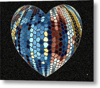 Heartline 4 Metal Print by Will Borden