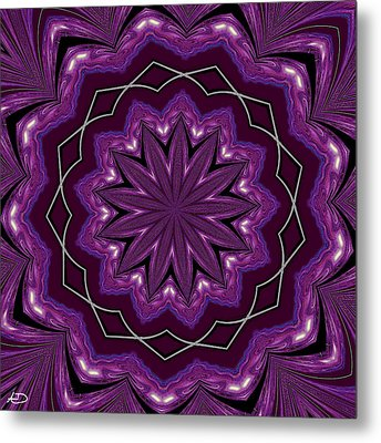 Heather And Lace Metal Print by Alec Drake