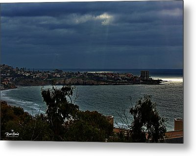 Heavely Spotlights Metal Print by Russ Harris