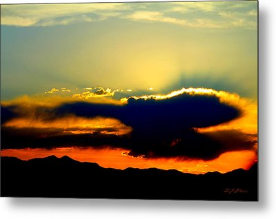 Metal Print featuring the photograph Heaven Is Watching by Jeanette C Landstrom