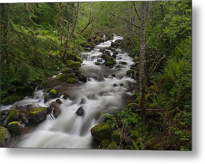 Heavenly Flow Metal Print by Mike Reid