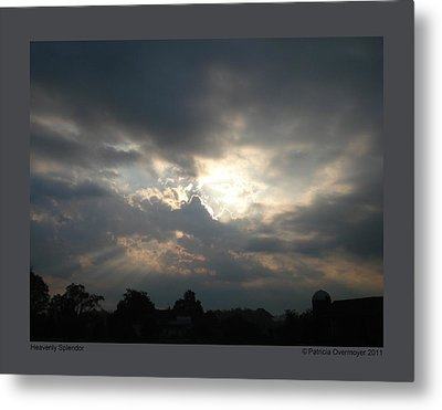 Metal Print featuring the photograph Heavenly Splendor by Patricia Overmoyer