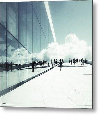 Heavenly Walk In Oslo 2 Metal Print by Marianne Hope