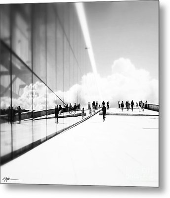 Heavenly Walk In Oslo 3 Metal Print by Marianne Hope