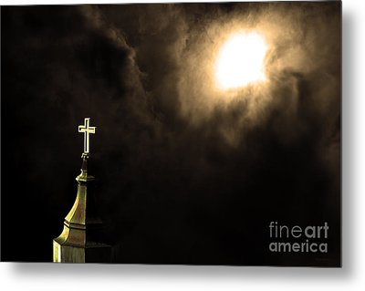 Heaven.s Gate . 7d15002 Metal Print by Wingsdomain Art and Photography