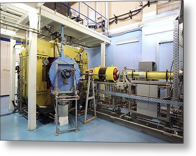 Heavy Ion Accelerator, Russia Metal Print by Ria Novosti