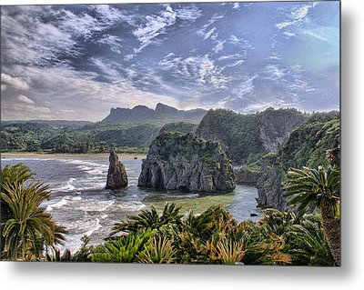 Hedo Point Metal Print by Karen Walzer