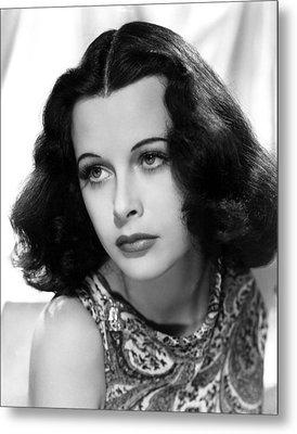 Hedy Lamarr, C. Early 1940s Metal Print