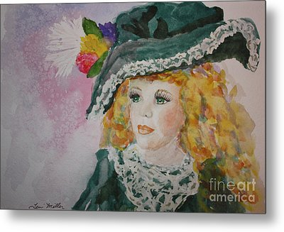 Hello Dolly Metal Print by Terri Maddin-Miller