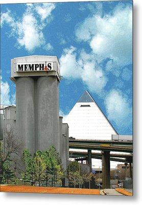 Metal Print featuring the photograph Hello Memphis by Lizi Beard-Ward