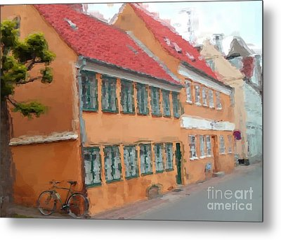 Metal Print featuring the painting Helsingor by Susan Fisher