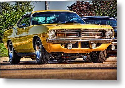 Hemi'cuda Metal Print by Gordon Dean II