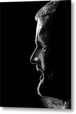 Henrik Sedin Metal Print by Kayleigh Semeniuk