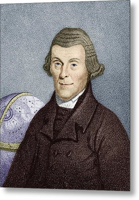 Henry Andrews, English Astronomer Metal Print by Sheila Terry