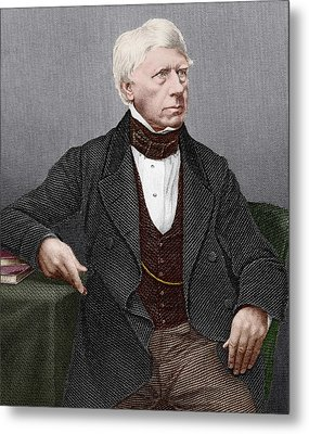 Henry Brougham, Scottish Lawyer Metal Print by Sheila Terry