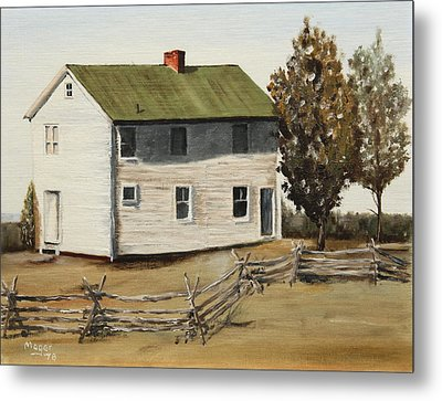 Henry House Metal Print by Alan Mager