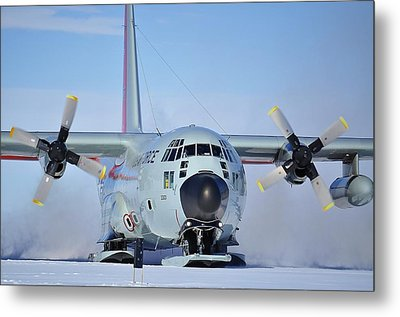 Hercules Lc130h 04 Metal Print by David Barringhaus