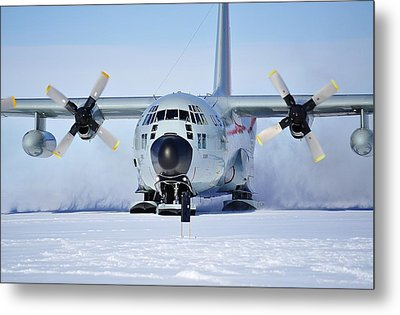 Hercules Lc130h 05 Metal Print by David Barringhaus