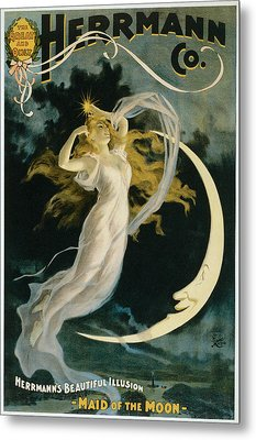 Herrmann Maid Of The Moon Metal Print by Unknown
