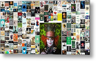 He's Mad As Hell Metal Print by Holley Jacobs