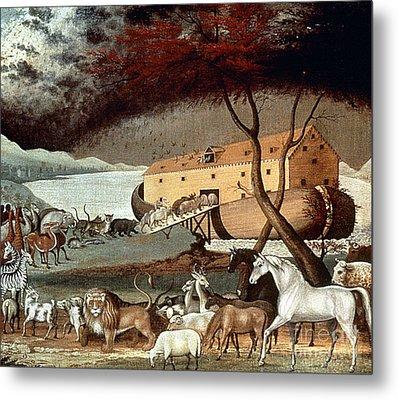 Hicks: Noahs Ark, 1846 Metal Print by Granger
