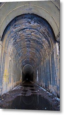Hidden Tunnel Metal Print