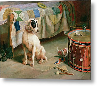 Hide And Seek Metal Print by Arthur Charles Dodd