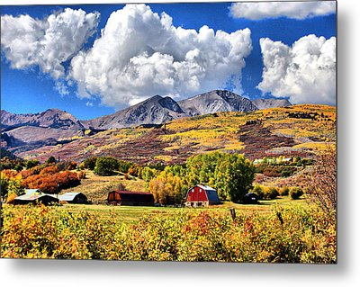 Metal Print featuring the digital art High Country Living by Brian Davis